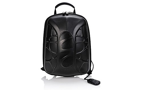 Faded Bluetooth Waterproof Speaker and Portable Charger Hiking Backpack