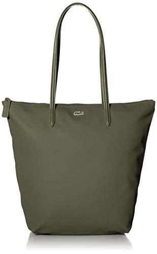 Lacoste womens Concept Vertical Shopping Shoulder Handbag, Baobab, One Size US