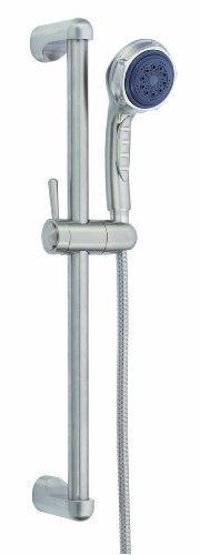 Danze D465005BN Three Function Hand Shower with 24-Inch Slide Bar, Brushed Nickel