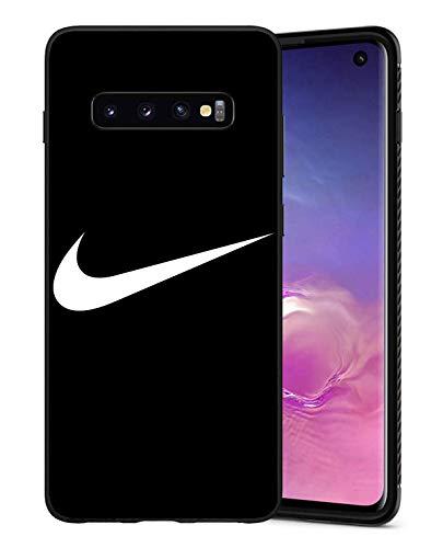 Conrad Coleri Just Do It Logo Schutzhülle Samsung Galaxy S10 Hülles, Nik Logo Hülle Handyhülle für Samsung Galaxy S10, Hülle Cover für Samsung Galaxy S10, Schwarz
