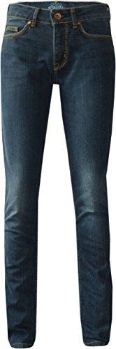 King Kerosin Speedgirl-2 Cordura bi-stretch dames biker jeans Super Stone