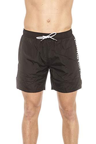 Roberto Cavalli HSH15C - Disfraz de parte inferior para hombre, negro y talla M