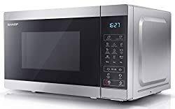Microwave – This 800 W microwave has a 20 Litre capacity and comes complete with 8 automatic programmes and 11 levels of power Capacity – This 20 Litre microwave can easily hold a standard sized dinner plate and comes with a 255 mm dishwasher safe re...