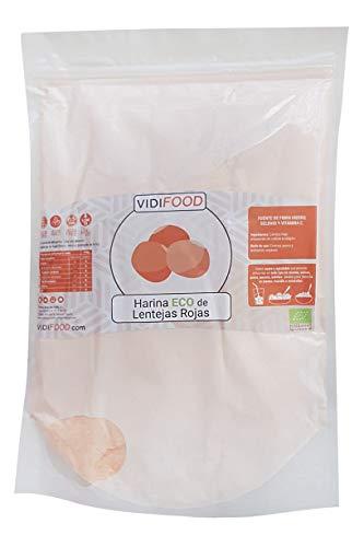 Harina de Lentejas Rojas Ecológica - 1kg - Lentejas rojas O