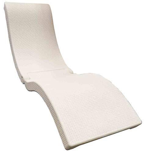 SwimWays Terra Sol Sonoma Chaise Lounge - White