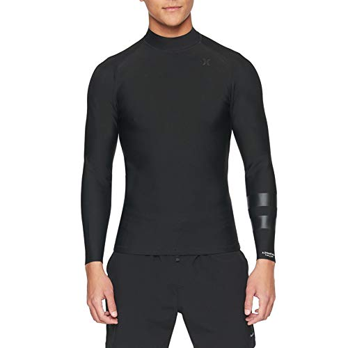 Hurley Advantage Plus 1mm Omkeerbare wetsuit jas Top - zwart heren wetsuit top/jas