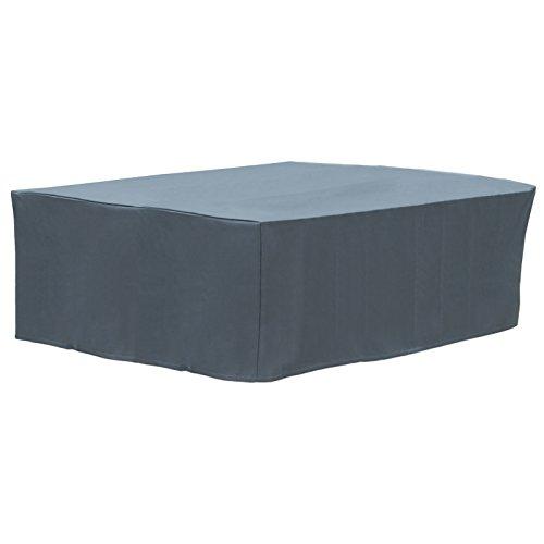 WOLTU GZ1197an Housse de Protection Couverture pour Mobilier de Jardin 600D Oxford,250x210x90cm Anthracite