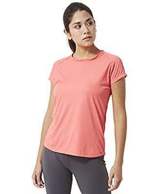 Athlete Women's Superlight Everyday Sports Tee for Gyming/Jogging/Exercise/Running/Yoga/Sports