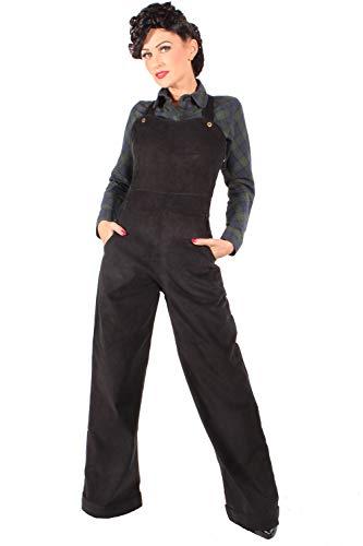 SugarShock Damen Rockabilly Cord Latzhose 161033709