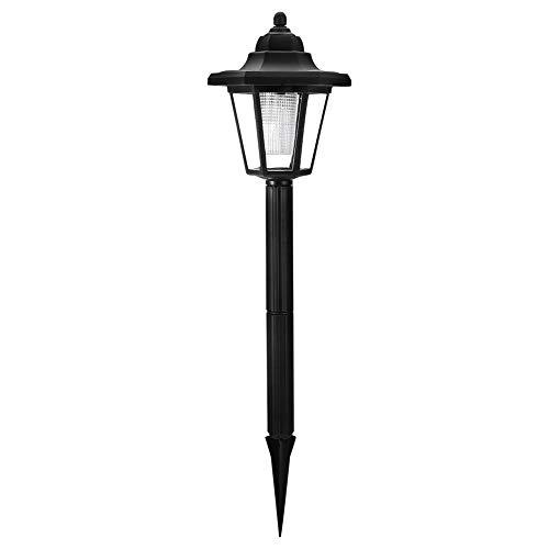 Santing Luz Blanca Iluminación Exterior Lámpara Solar Exterior, Lámpara LED Solar, Lámpara de Suelo Ahorro de energía IP65 Impermeable para jardín para Paisaje