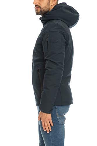 Gas Jeans N. Racker, Chaqueta Deportiva para Hombre, Azul (Navy Blue 0194), Small (Talla del Fabricante: 46)