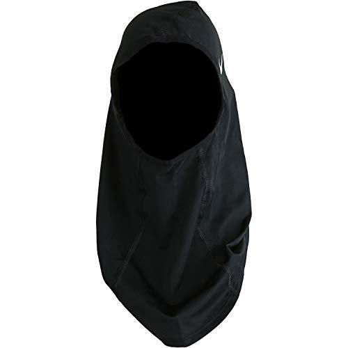 Nike Unisex– Erwachsene Pro Hijab, Black/White, M/L