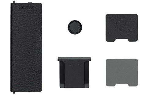 Fujifilm CVR-XT3 Kit Tappi di Ricambio per Connettori per Fotocamera Fujifilm X-T3, Nero