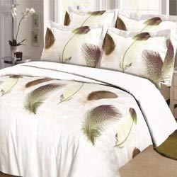 5# Taille Unique Greenlans Home Housse de Coussin d/écoratif orchid/ées Pierre Imprim/é Couvre-lit Vintage Forme carr/ée Taie doreiller Coque Polyester