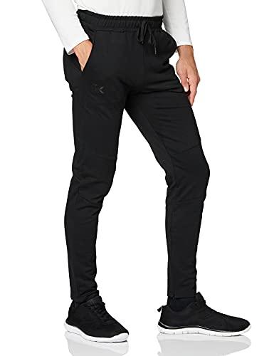 Canterbury Tapered Fleece Cuff Pantalon Homme, Noir, moyen