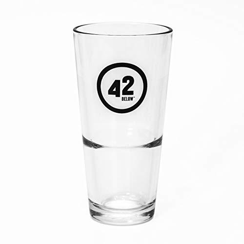 42 Below 6 Stück Vodka Gläser Longdrinkgläser Cocktail Spirits Drinks Glas Party Glas Sommer Bar Nightlife Trend