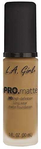LA Girl HD Pro. Matte Foundation, Natural, 30 ml