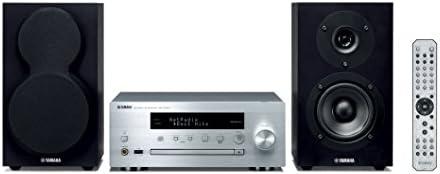 Yamaha MusicCast MCRN470D MiniChane HiFi argent