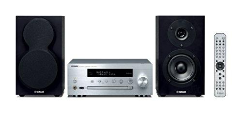 Yamaha MCR-N470D Mikro-Komponentensystem, Silber/Schwarz