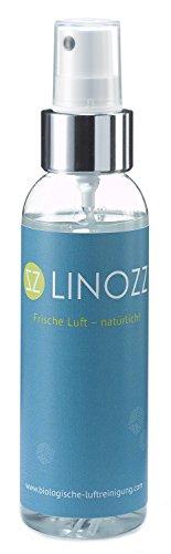 LINOZZ Geruchsneutralisierer für zu Haus 100 ml. Geruchsentferner für Wohnung und Küche. Entfernt Geruch von Nikotin, Rauch und Urin