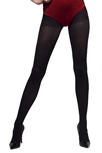 Smiffys Collant opaque - Noir - Taille Unique