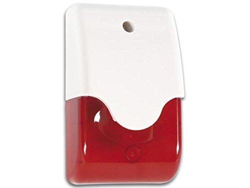 Velleman SV/PSL3R Alarm-Signalgeber rot optisch + akustisch