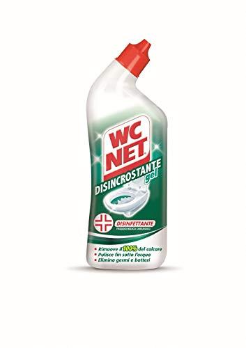 WC Net–Gel desincrustante WC Net - Elimina 100% la cal - Limpia debajo del agua - Elimina gérmenes y bacterias - Cantidad 700 ml