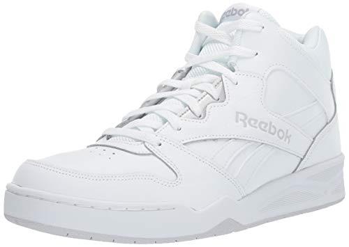 Reebok Men's Royal BB4500H2 XE Sneaker, White/Light Solid Grey,10 W US