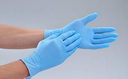 medicina tama/ño S 100 guantes de PVC desechables transparentes guantes de goma de laboratorio a base de /ácido y sin polvo guantes de l/átex para jard/ín utilizados en cocina