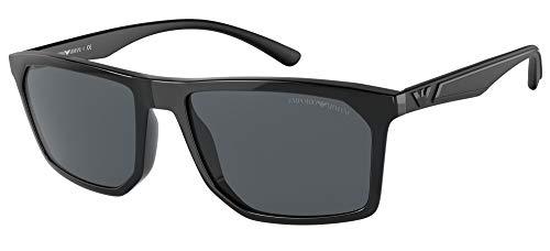 Emporio Armani Gafas de sol EA4164 501787 Gafas de sol hombre color Negro gris tamaño de lente 57 mm