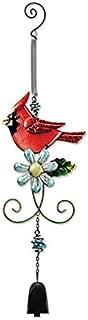 Sunset Vista Designs Metal and Glass Cardinal Bouncy Hanging Decoration