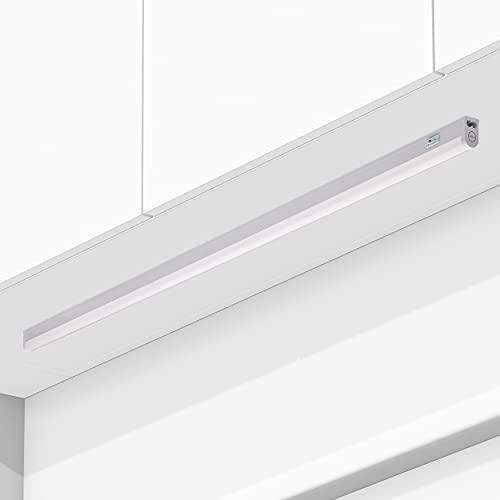 Oktaplex Lighting Riga Oktaplex Lighting Riga LED Unterbauleuchte Küche | 18W Unterbau Küchenleuchte mit Schalter | warmweiß 3000K erweiterbar | Länge: 114cm