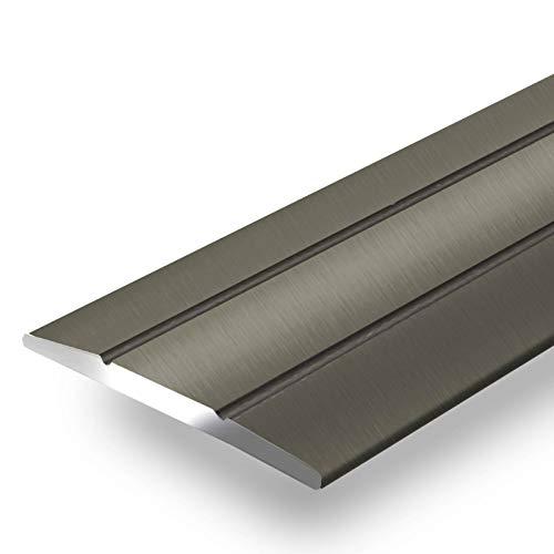 Alu Übergangsprofil Firm | C Form | selbstklebende Abdeckleiste für Fugen | Breite 36 mm | eloxiert Champagner | 90 cm