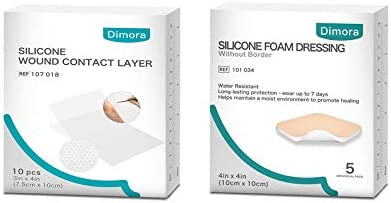 Dimora Silicone Wound Contact Transparent Layer Indefinitely Dressing Popular products