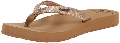 Reef Women's Star Cushion Sassy Sandal, Rose Gold, 9 M US