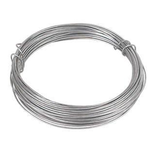 30 Metre 1.0mm Heavy Duty Garden Wire Galvanised Wire Metal Fencing Wire Outdoor