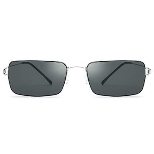 LNNZPL Ultra luz Creativa de Gafas de Sol del Hecho a Mano d