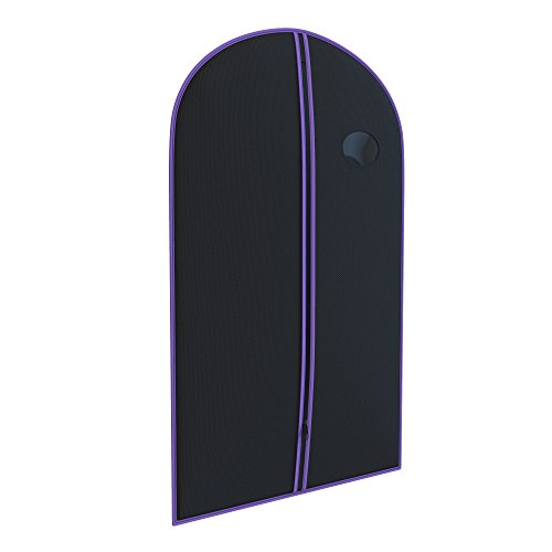 "Purple Suit Garment Travel Bags -Heavy Duty and Lightweight 40"" X 24"" -Your Bags"