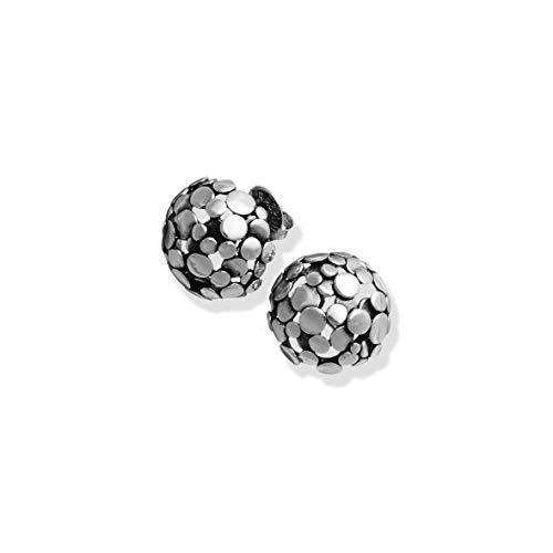 Giovanni Raspini orecchini bottone Paillettes argento 925 10478