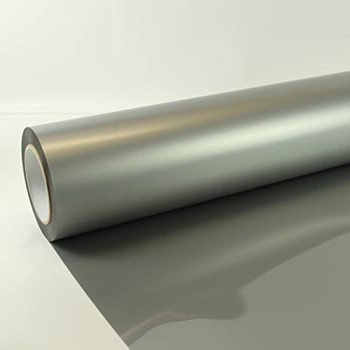 53,00€/m² 0,3m x 0,5m Poli-Flex Premium Folie Silber 430 Flexfolie Buegelfolie Poli-Flex