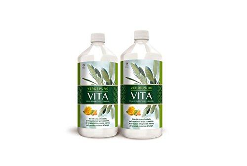 VERDEPURO VITA - Estratto Foglie D'olivo e Calendula Liquido - Immunostimolante - Integratore Alimentare by MYVITALY