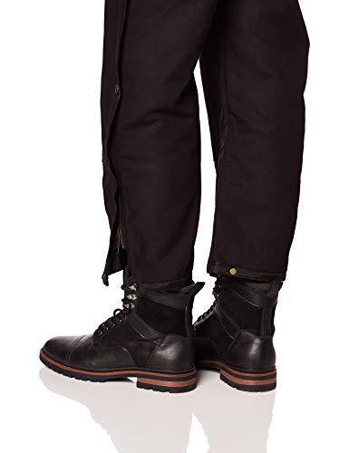 Berne Mens Deluxe Insulated Bib, Black, Large/Regular