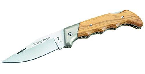 Nieto Erwachsene Messer Taschenmesser Olivenholz-Schalen Länge geöffnet: 21.0 cm, braun, One Size