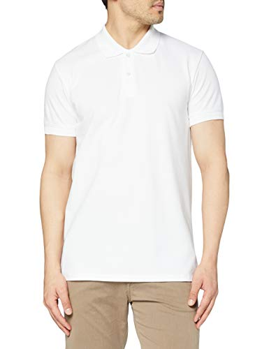Trigema 627601 Polo, Blanc (001), XXL Homme