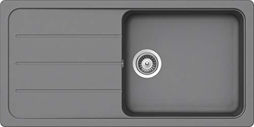 SCHOCK Küchenspüle 100 x 50 cm Formhaus D-100L Croma - CRISTALITE Granitspüle ab 60 cm Unterschrank-Breite