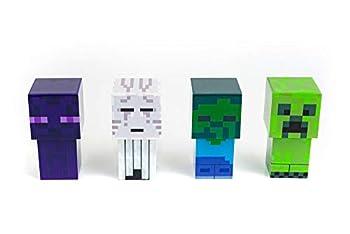 Minecraft Mini Mob 4-Piece Figure Mood Light Set   Battery Operated LED Lights