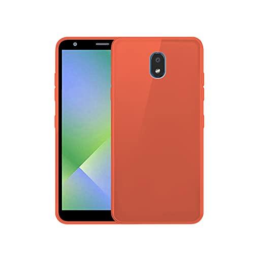 TBOC Funda de Gel TPU Roja Compatible con LG K30 (2019) [5.45 Pulgadas] Carcasa de Silicona Ultrafina y Flexible Teléfono Móvil [No es Compatible con LG K30]
