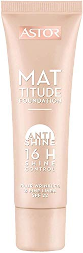 Astor Mattitude Foundation Base de Maquillaje, 400 (3614221421710)