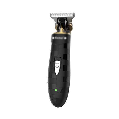 YFQHDD Podadoras de pelo de la barba del condensador de ajuste del pelo recargable eléctrica de la maquinilla de afeitar del peluquero del corte del pelo de afeitar Máquina for el hombre de la herrami