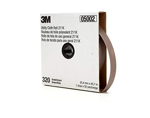 """Cloth Utility Roll 05002, 1"""" x 50 yd, 320J-by-3M COMPANY"""